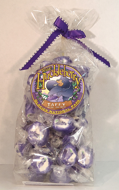 Huckleberry Taffy - 12 oz.
