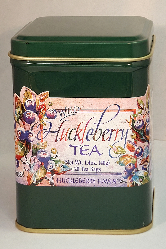 Huckleberry Tea Tin