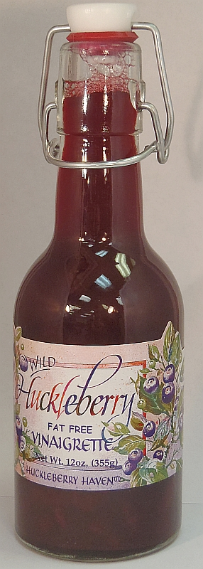 Huckleberry Vinaigrette - 12 oz.