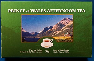 Prince of Wales Hotel Tea Box