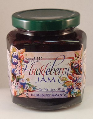 Wild Huckleberry Jam - 11 oz.