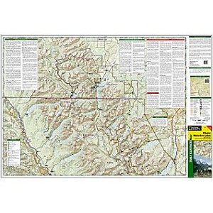Glacier Waterton Trails Illustrated Map