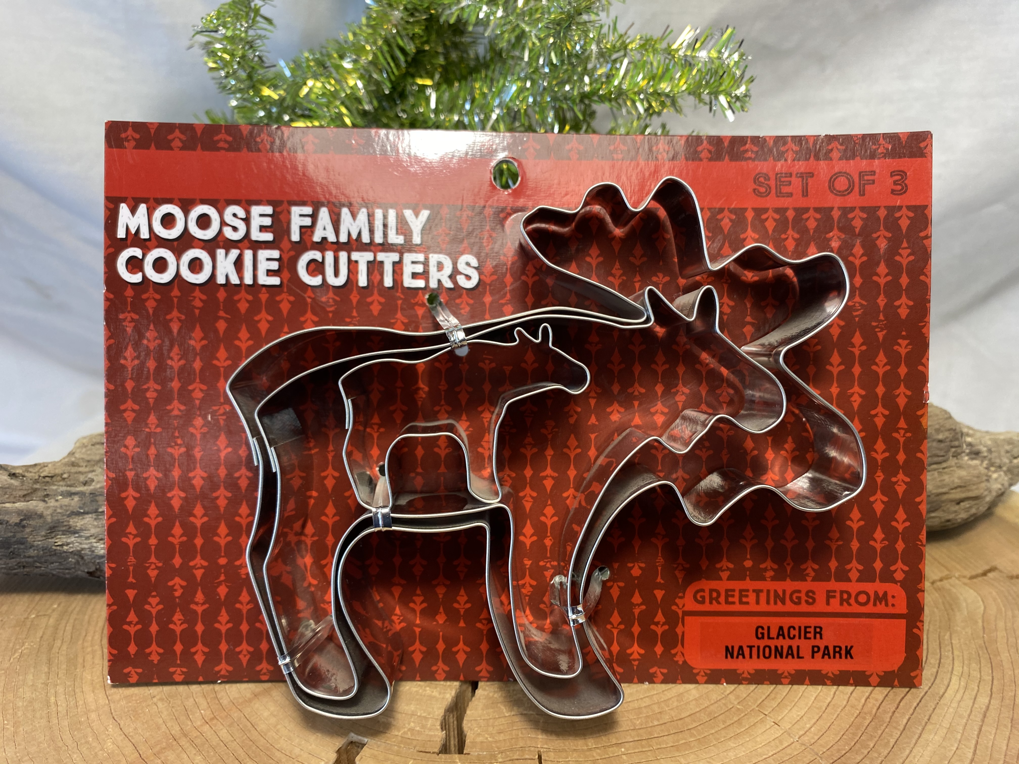 Moose Family Cookie Cutter Set