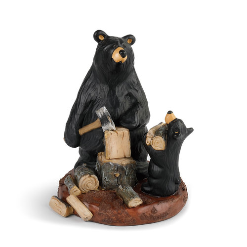 Bearfoots Figurine - Daddy's Helper