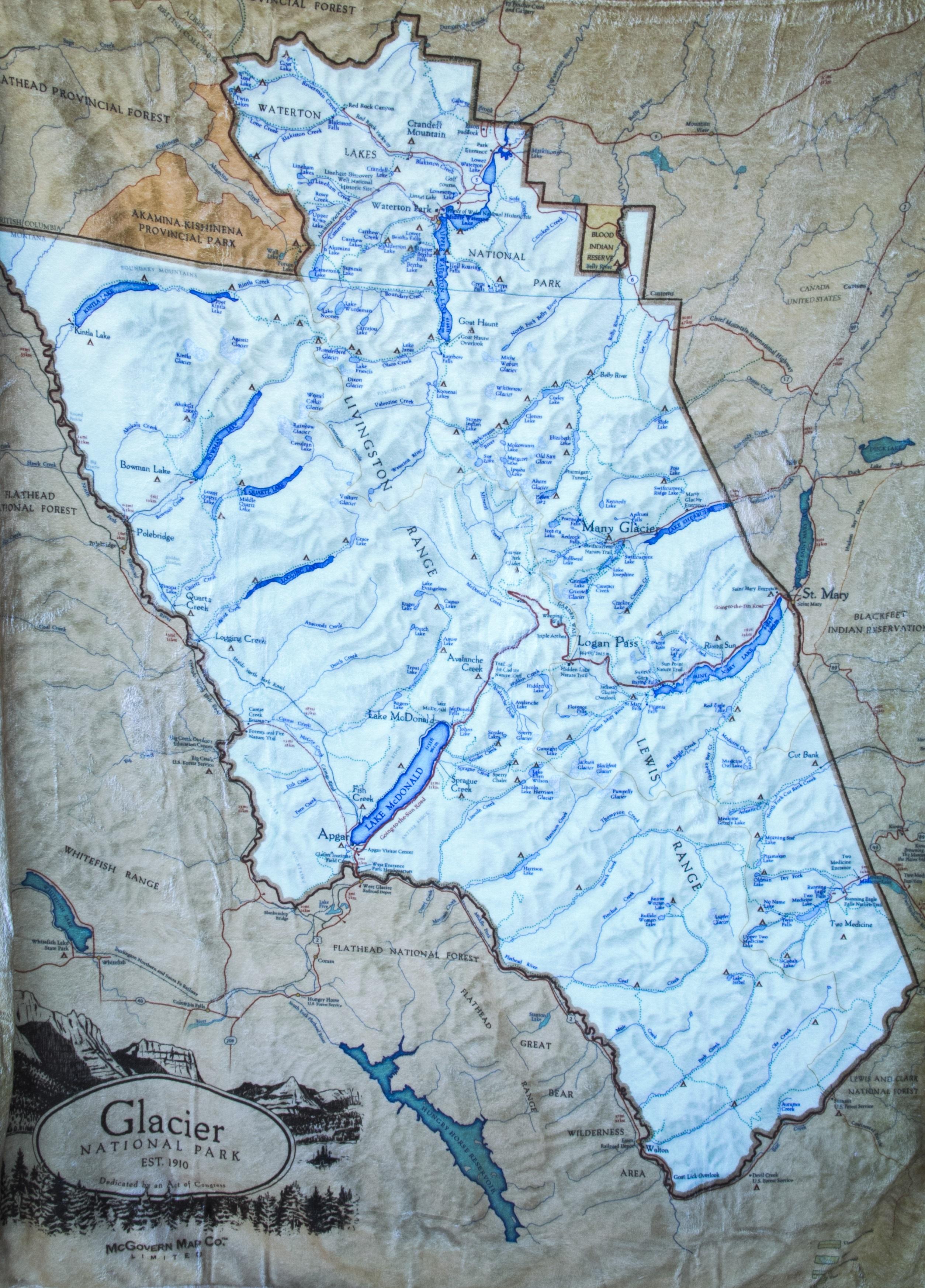 Glacier map blanket quick view gumiabroncs Choice Image