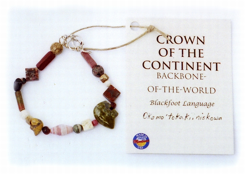 Glacier Park Jewelry Bracelet - Crown of the Continent
