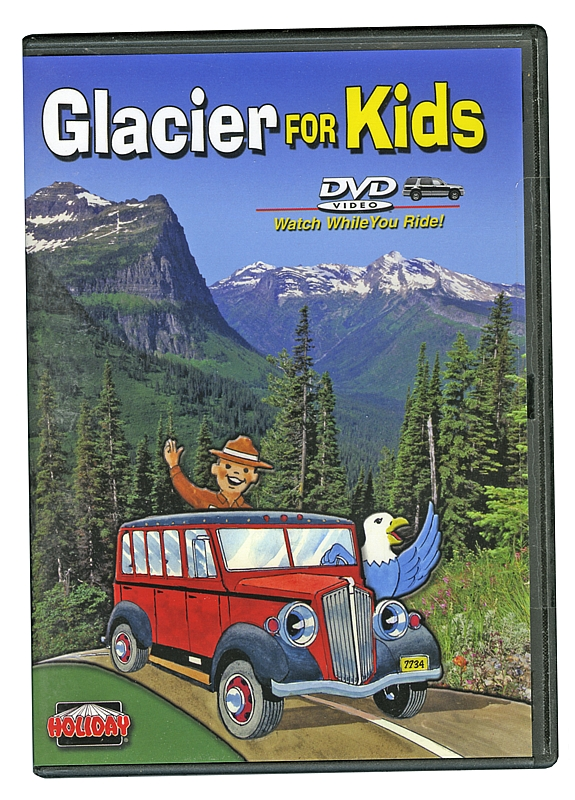 Glacier For Kids - DVD