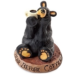 Bearfoots Figurine - Bear Before Coffee