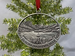 Wild Goose Island Pewter Ornament - Made in the USA