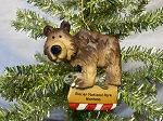 Grizzly Bear with Fish Ornament