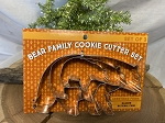 Bear Family Cookie Cutter Set