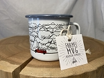 Jammer and Mountains Enamel Mug