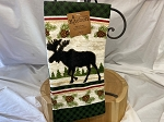 Woodland Moose Terry Kitchen Towel