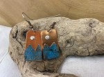 Moondance Jewelry - Patina Copper Mountain Earrings