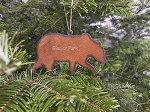 Metal Bear Ornament - Made In the USA