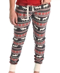Moose Fair Isle Women's Leggings