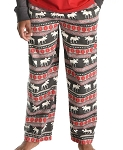 Moose Fair Isle PJ Pants