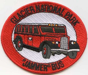 Red Bus Patch